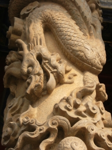 Dragon Carving in China